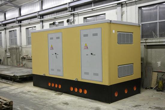 produzione cabine elettriche di distribuzione mt/bt omologate enel